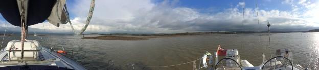 """Von Portsmouth über Newtown Bay nach East Cowes – der """"Tidal Check"""""""