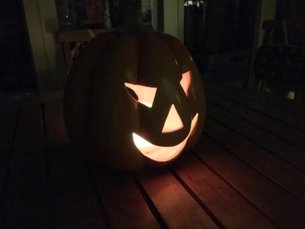 Halloween oder die Wanne ist voll